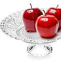 25534 Ваза для фруктов стекло 30х12см MB (х4)