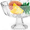 25535 Ваза для фруктов стекло 22,5х14см MB (х4)