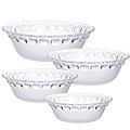 25538 Наб/посуды 4пр стекло 22,5х17х19х13см MB(х6)