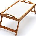 27359 Столик для завтрака 30см Бамбук MB (х8)