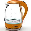 11173 Эл. чайник стекло 1,7л 2200Вт ZM (х6)