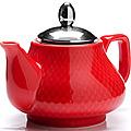 26593 Заварочный чайник КРАСНЫЙ 750мл LR (х24)