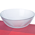 1083 Салатница стеклянная 23 х 8,5 см (х8)