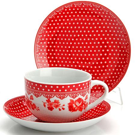25907 Чайный набор 12пр чашка+блюдце LR (х6)