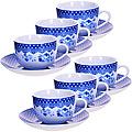 25908 Чайный набор 12пр чашка+блюдце LR (х6)