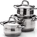25668 Набор посуды 6пр 2,1+2,1+3,9л с/кр MB (х4)