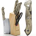 396 Ножи МВ 8пр мрамор/ручка с топором (х12)