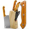 Ножи 398 МВ 7 пр дерев.ручка с топором (х12)