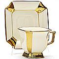 21902 Чашка 240мл + блюдце в под/уп.МВ (х24)(х34)