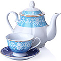 27850 Чайный сервиз 13 пр фарфор 220мл LR (х4)