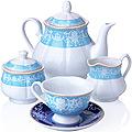 27859 Чайный сервиз 15 пр фарфор 220мл LR (х2)
