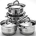 24040 Набор посуды 8пр 2+2+2,8+3,8л МВ (х4)