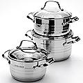 24041 Набор посуды 6пр 2,8+3,8+6,3л МВ (х4)