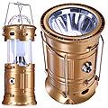 5901-1 Кемпинговый фонарь большой золотой (х40)
