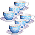 27890 Чайный сервиз 12 пр керамика 220мл LR (х6)