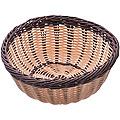 28256 Корзина плетёная пластик 24х10,4см МВ (х48)