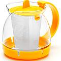 26175-2 Заварочный чайник ЖЕЛТЫЙ стекло 0,8л сито MB(х48)