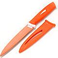 22128-1 Нож ОРАНЖЕВЫЙ 25 см в футл. антибактер/покр МВ (х240)