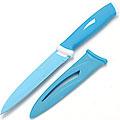 22128-3 Нож СИНИЙ 25 см в футл. антибактер/покр МВ (х240)