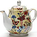 24567 Заварочный чайник 1100мл с/кр керам LR (х12)