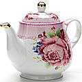 24568 Заварочный чайник 1100мл с/кр керам LR (х12)