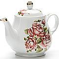 24573 Заварочный чайник 1100мл с/кр керам LR (х12)