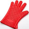 4427-1 Прихватка-перчатка КРАСНАЯ силик.MBXL (х96)