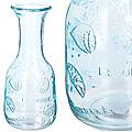 27812-1 Графин стеклянный 1 литр голубой LR (х12)