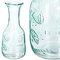 27812-2 Графин стеклянный 1 литр зеленый LR (х12)