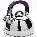 23587 Чайник мет 2,7л со свистком фиолетов МВ(х12)