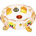 588-053 Креманка  10см.GOLDEN стекло (х48)