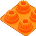 26120-1 Форма для выпечки 130мл силик.ОРАНЖ. MB (х288)