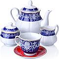 27851 Чайный сервиз 15 пр фарфор 220мл LR (х2)