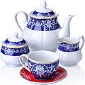 27854 Чайный сервиз 15 пр фарфор 220мл LR (х2)