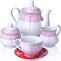 27855 Чайный сервиз 15 пр фарфор 220мл LR (х2)