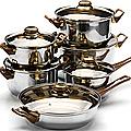 6072 Набор посуды МВ 12пр корич/р (х2)(7+3,6+2,8+1,9+к1,9+ск1,9)