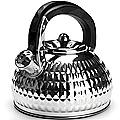 24965 Чайник мет 3л со свист.с/кр СЕРЕБРИСТЫЙ MB(х12)