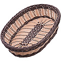 28244 Корзина плетёная пластик 30,5х22см МВ (х48)