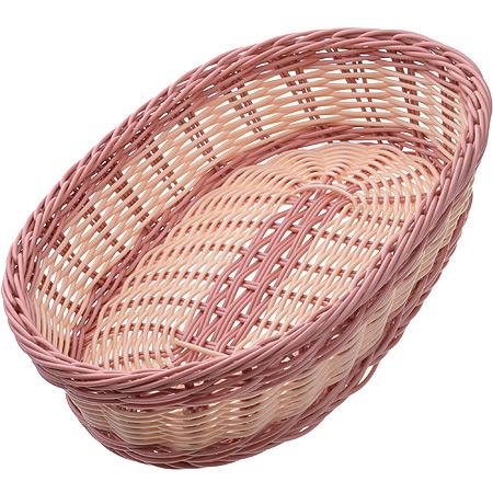 28245 Корзина плетёная пластик 30,5х22см МВ (х48)
