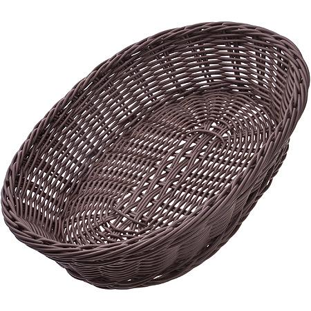 28247 Корзина плетёная пластик 30,5х22см МВ (х48)