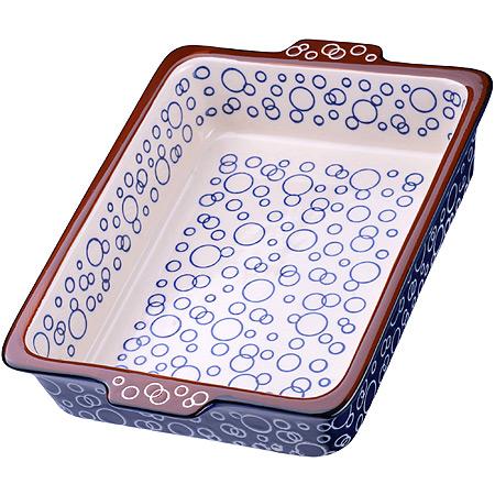 27922 Форма для запекания 1,5л.керамика LR (х12)
