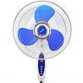 10408 Вентилятор напольн. синий+тайм+хром 38Вт(х2)