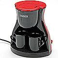 10979 Электро-кофеварка 240мл 450В 2 чашк ZM (х8)