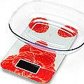 10959 Весы кухонные до 5кг + чашка МАЛИНА MB (х12)