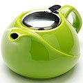 23057 Заварочный чайник 750мл ЗЕЛЕНЫЙ LR (х24)