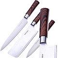 27429 Набор ножей 3пр в упаковке + топор MB (х12)