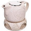 28687-3 Завар/чайник БЕЖЕВЫЙ 700мл подст/подогрев LR (х8)