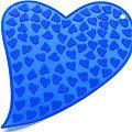 20032-3 Подставка Синий силикон