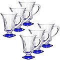 20220-1 Набор стаканов СИНИЙ 6 предметов LR (х6)