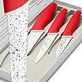 24891 Набор ножей 3пр сил/руч МВ (х20)